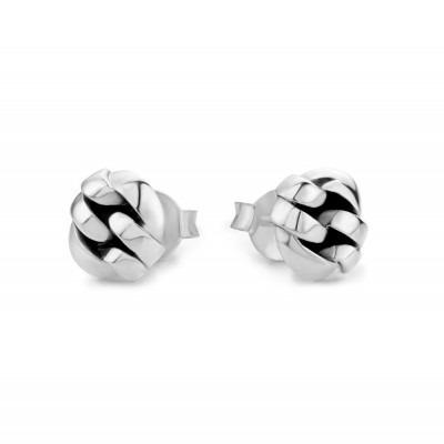 Buddha to Buddha 481 ONE earstuds Chain Silver