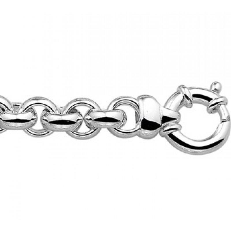 Zilveren jasseron armbanden 9mm