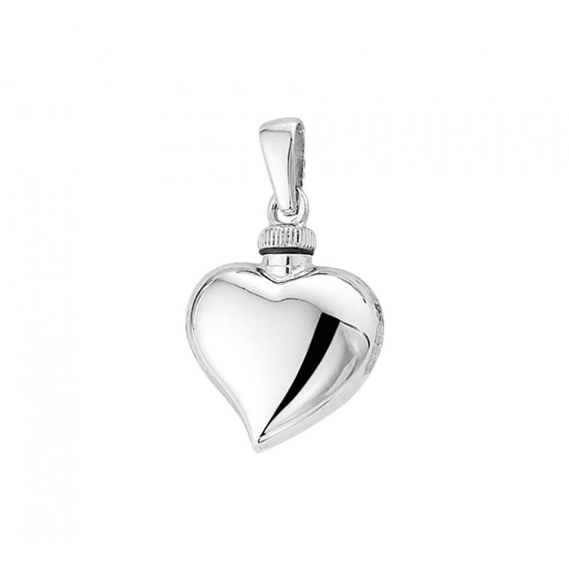 Ashanger van zilver hartje