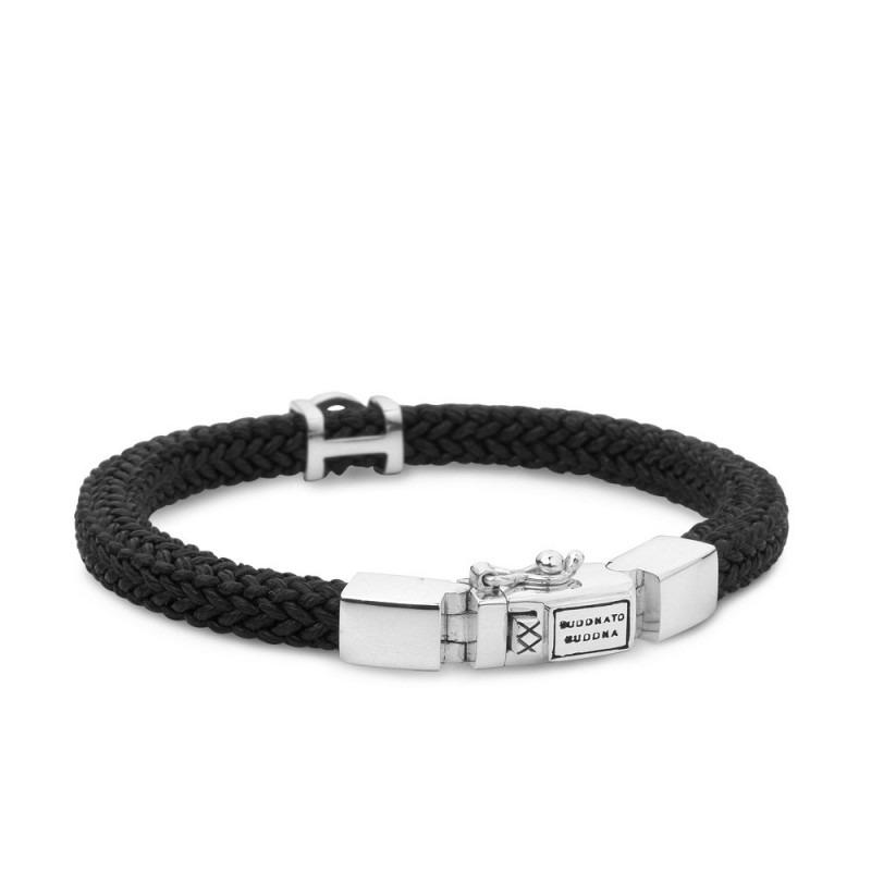 Buddha to Buddha 780BL Armband Denise Cord Black