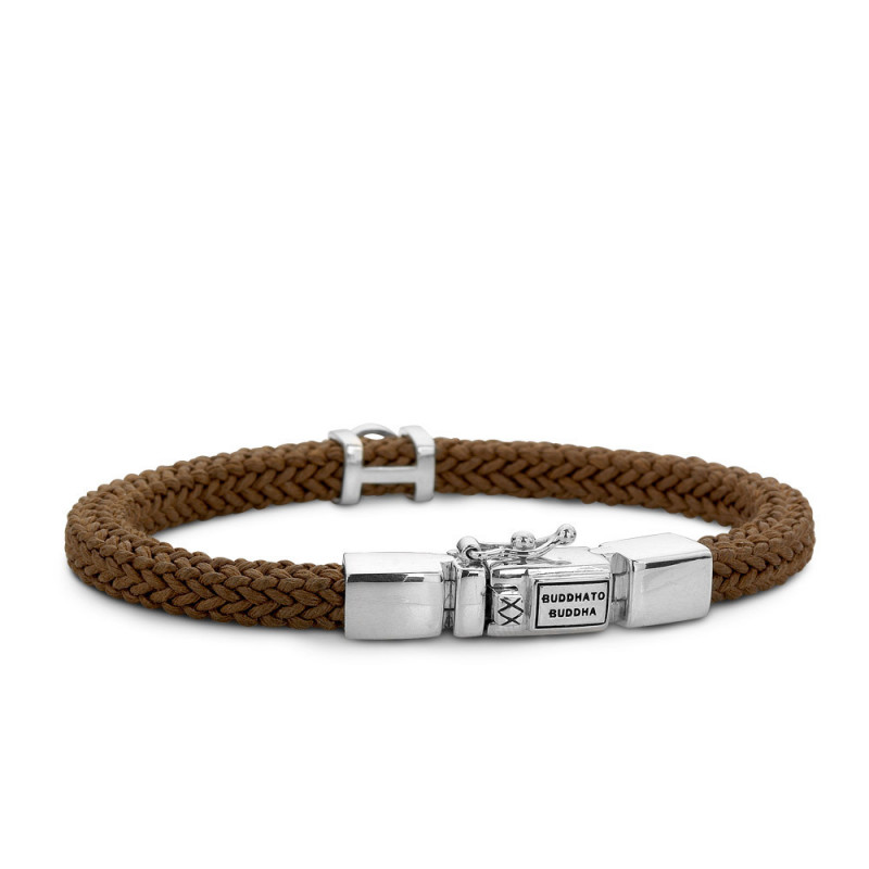 Buddha to Buddha 780BR Armband Denise Cord Brown
