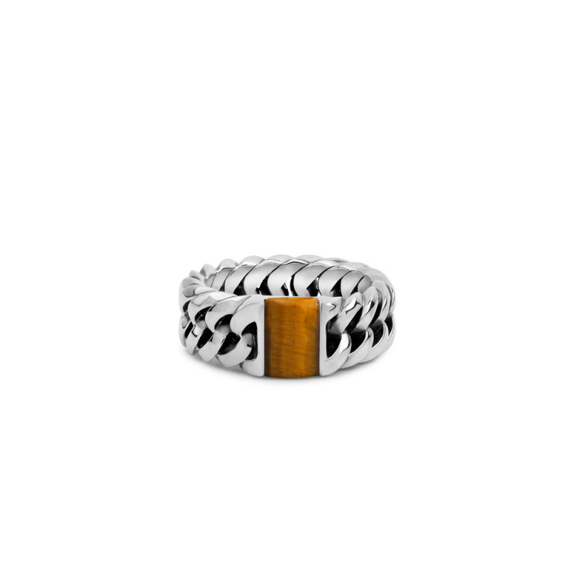 Buddha to Buddha 603TI Ring Chain Stone Yellow Tiger Eye