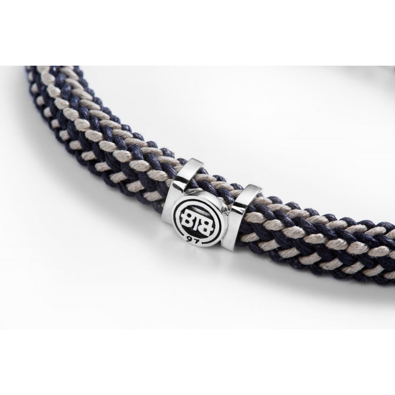 Buddha to Buddha 780MIX GR Armband Denise Cord Mix Grey