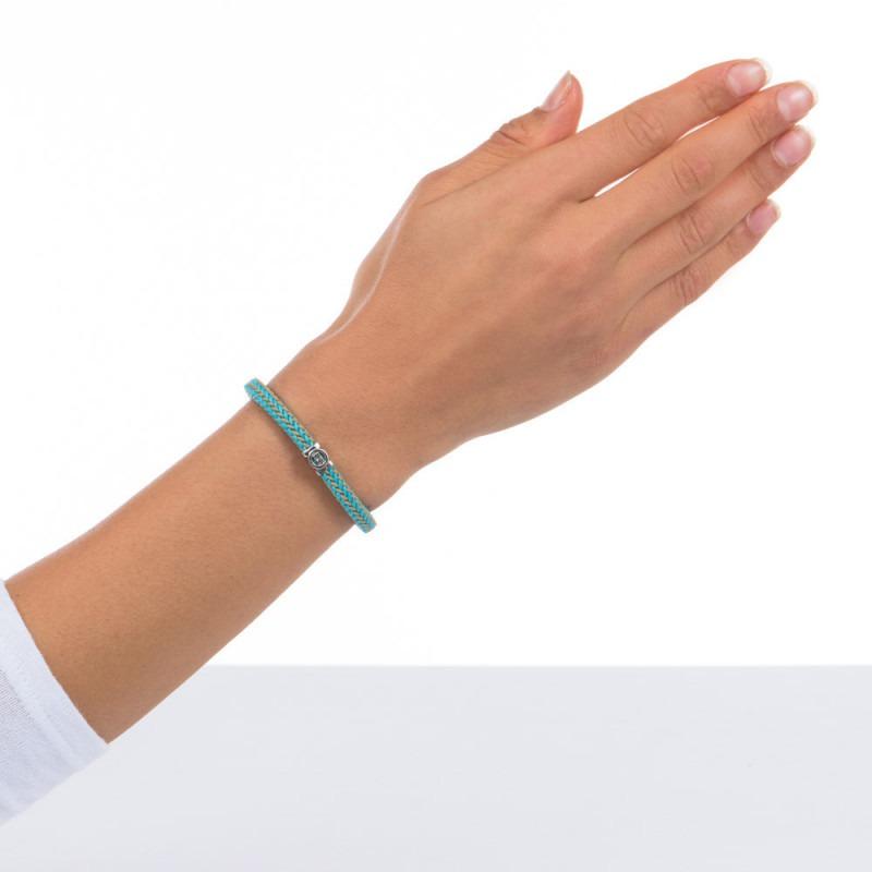 Buddha to Buddha 780MIX TQ F Armband Denise Cord Mix Turqoise