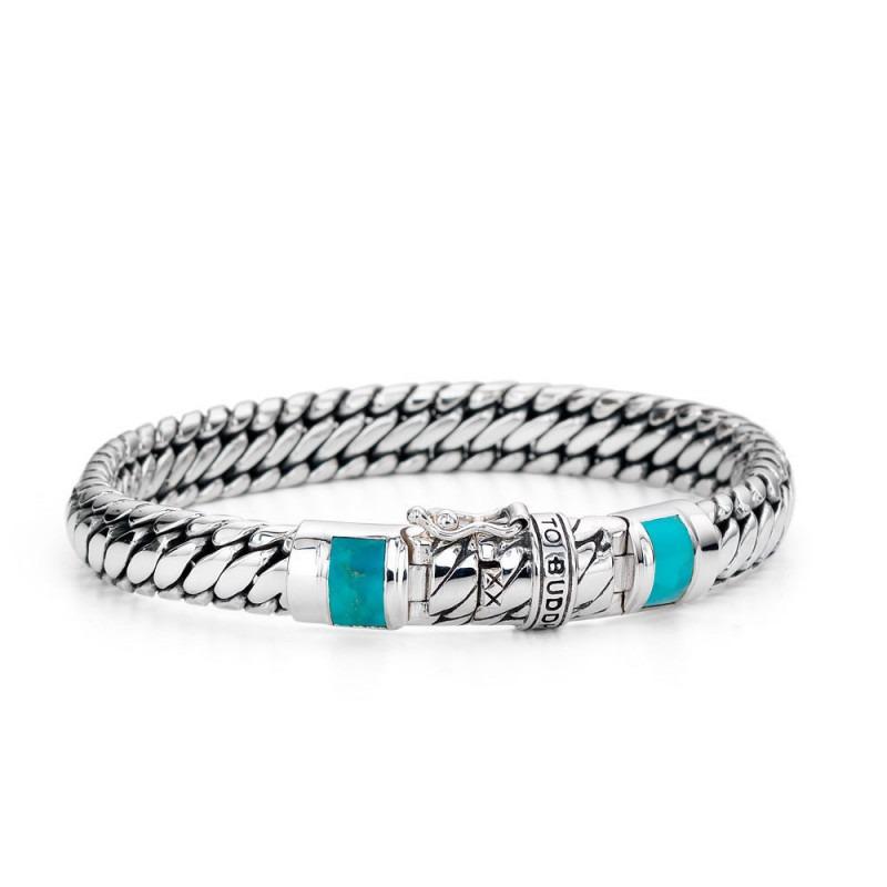 Buddha to Buddha J070TQ Armband Ben XS Stone Turquoise