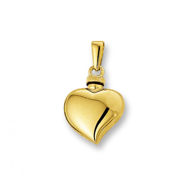 Ashanger gouden hart asymmetrisch