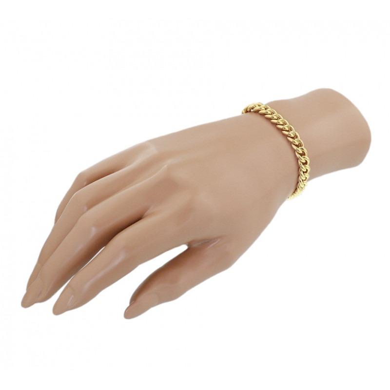 Armband van goud met Gourmet schakels