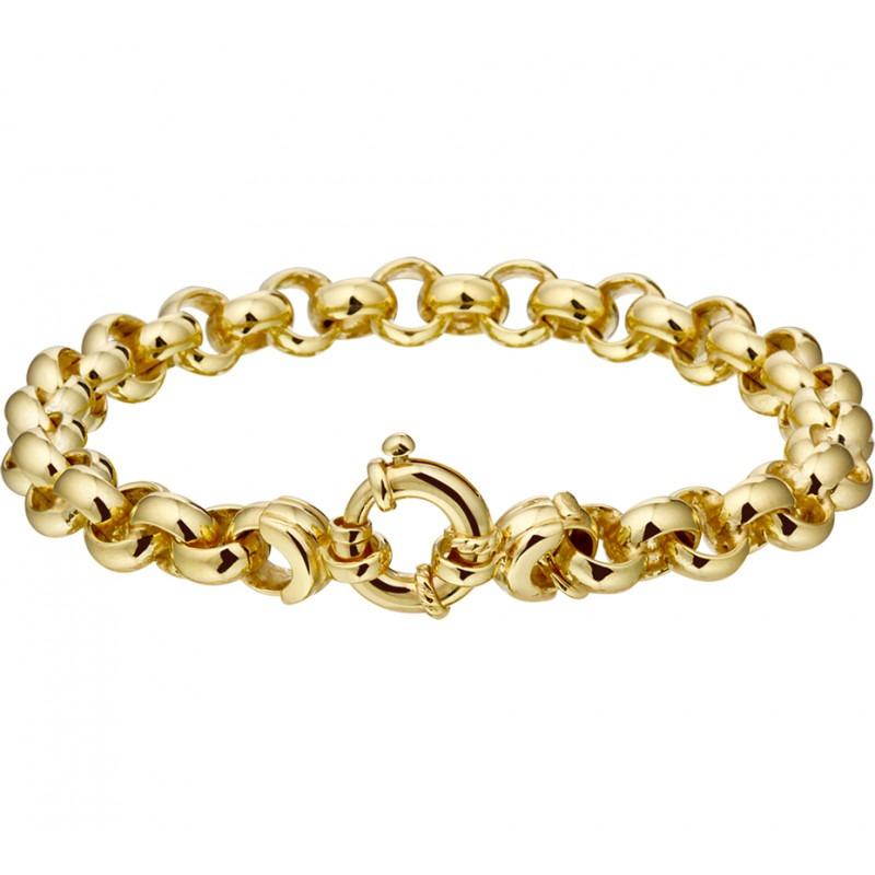Armband van goud met Jasseron schakels