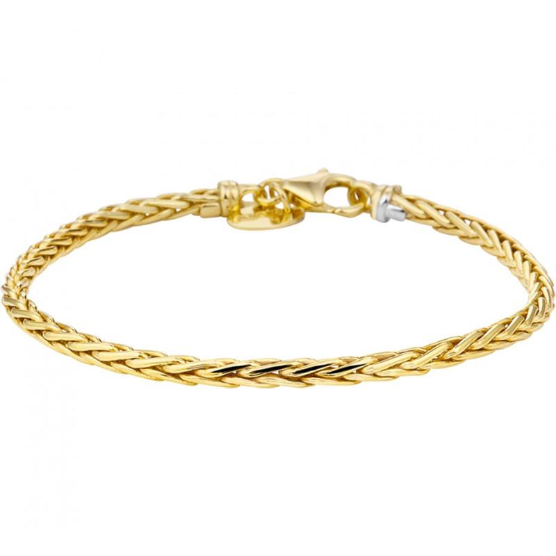Gouden damesarmband met Palmier schakels