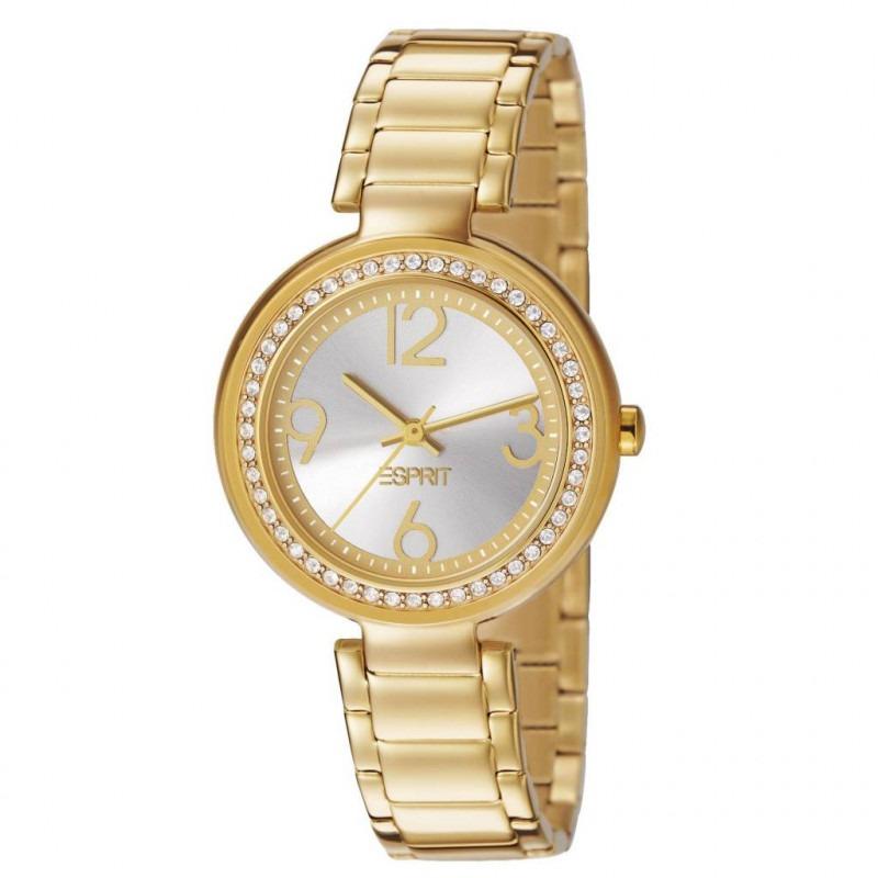 Esprit bela Crystal Gold dameshorloge ES106022002