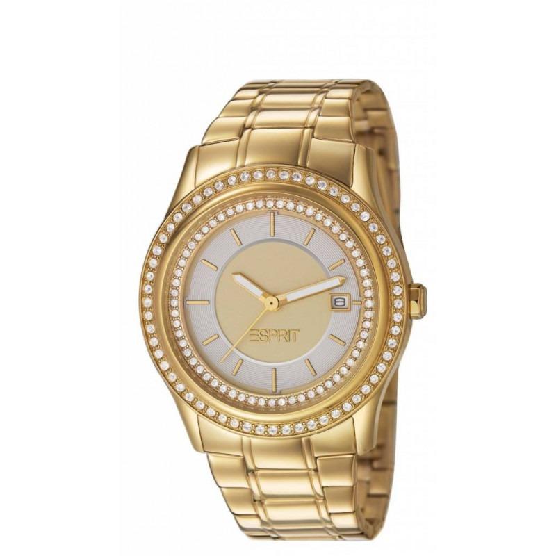 Esprit double Twinkle Gold dameshorloge ES106132007