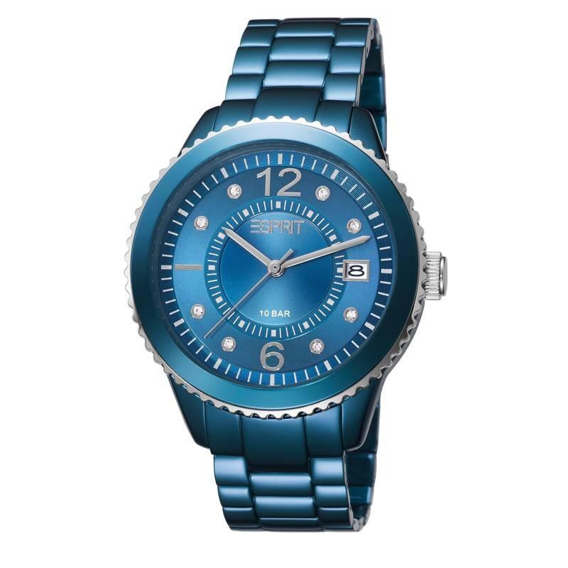 Esprit marin Aluminium Blauw dameshorloge ES105812007