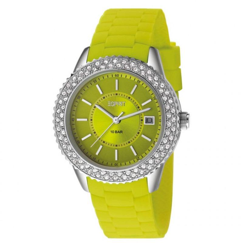 Esprit marin Glints Lime dameshorloge ES106212003