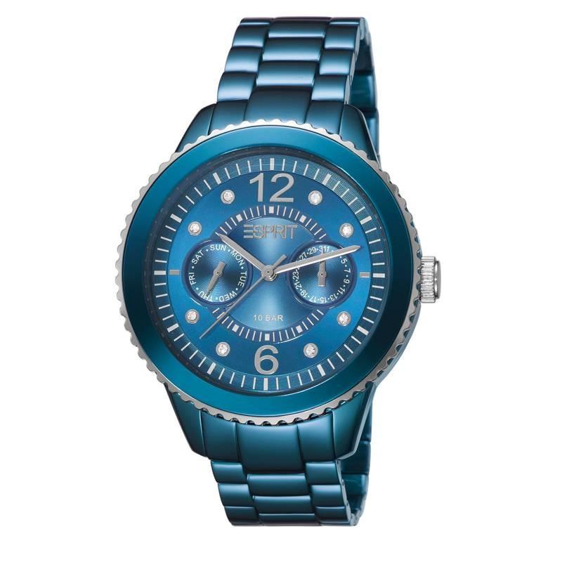 Esprit marin Speed Blue Aluminium dameshorloge ES105802007
