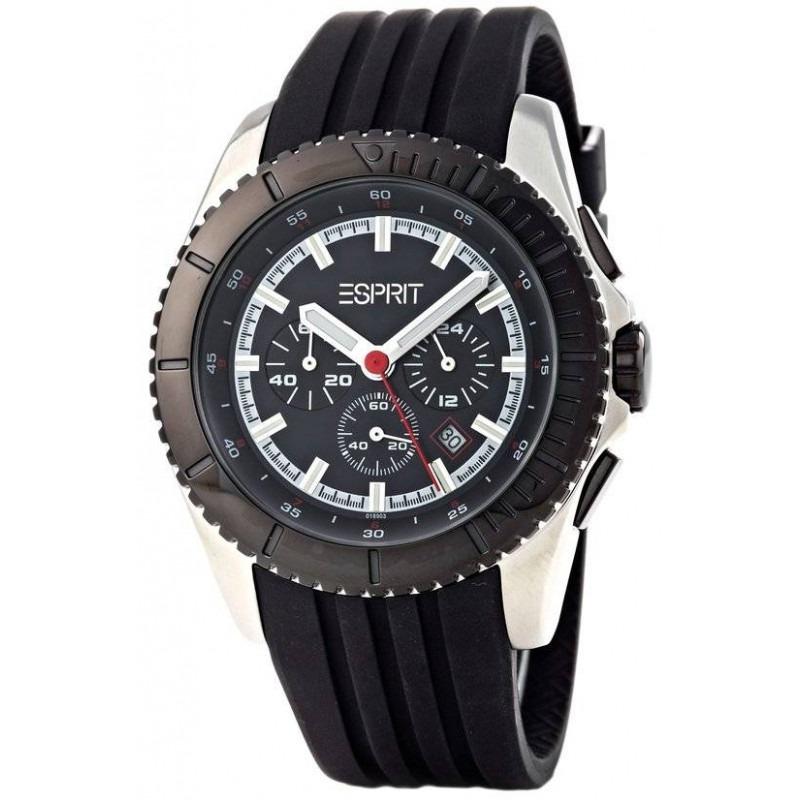 Esprit motorsport Black herenhorloge ES101891004