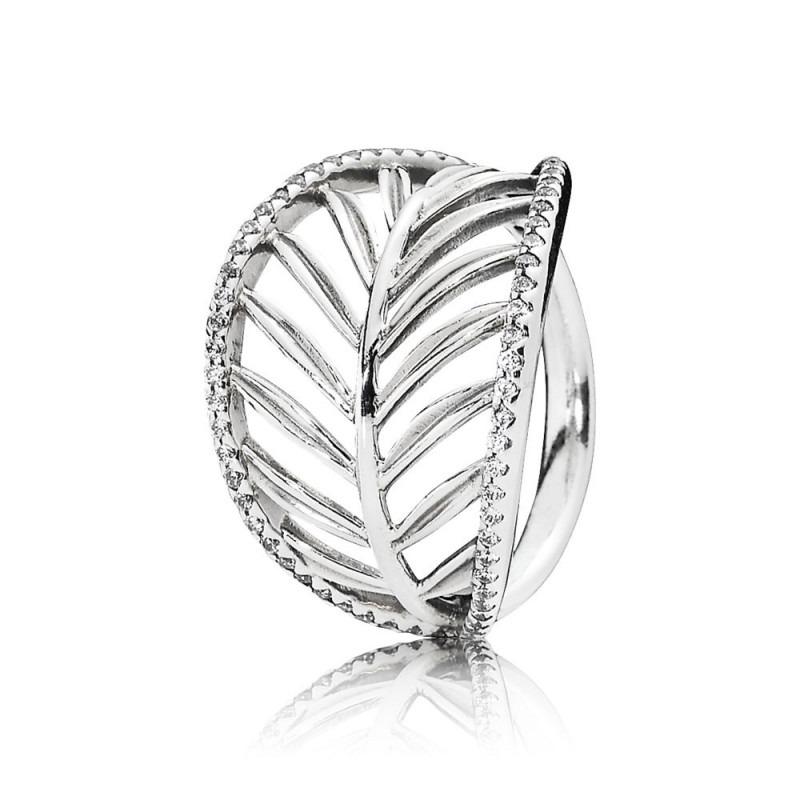 PANDORA palmblad ring 190952CZ