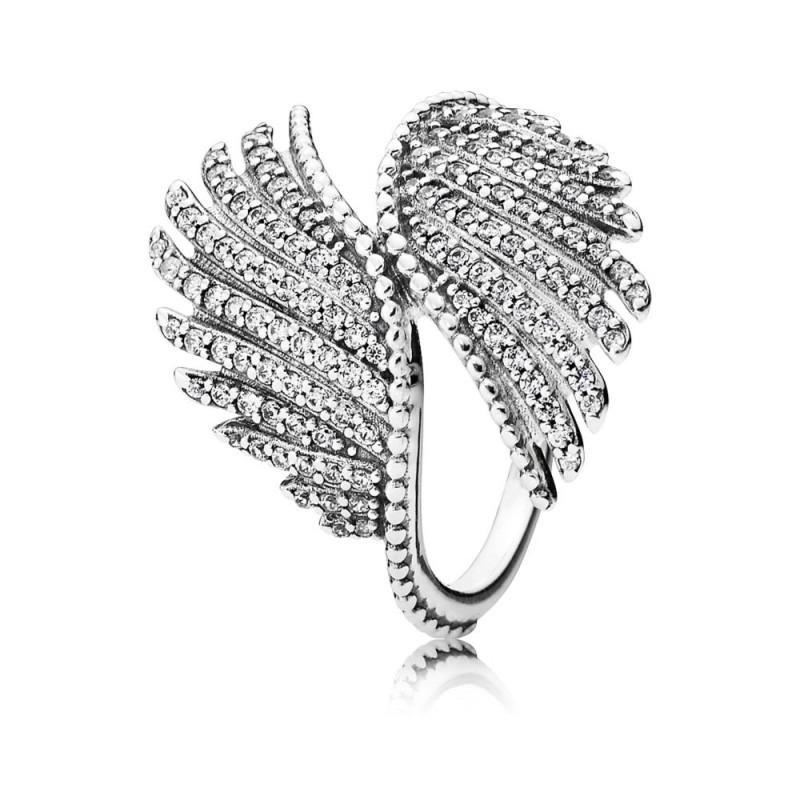 PANDORA ring koninklijke veren 190960CZ