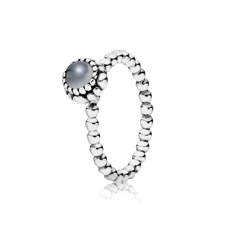 PANDORA ring met geboortesteen juni 190854MSG