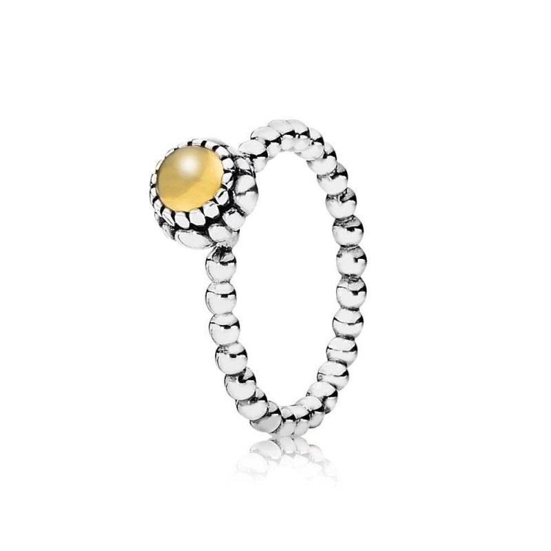 PANDORA ring met geboortesteen november 190854CIG