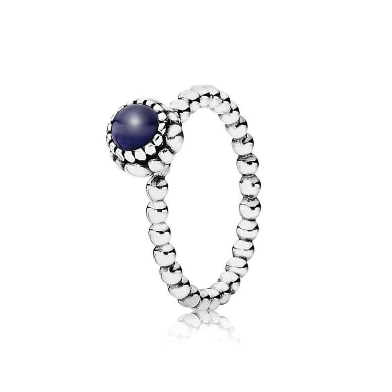 PANDORA ring met geboortesteen september 190854LP