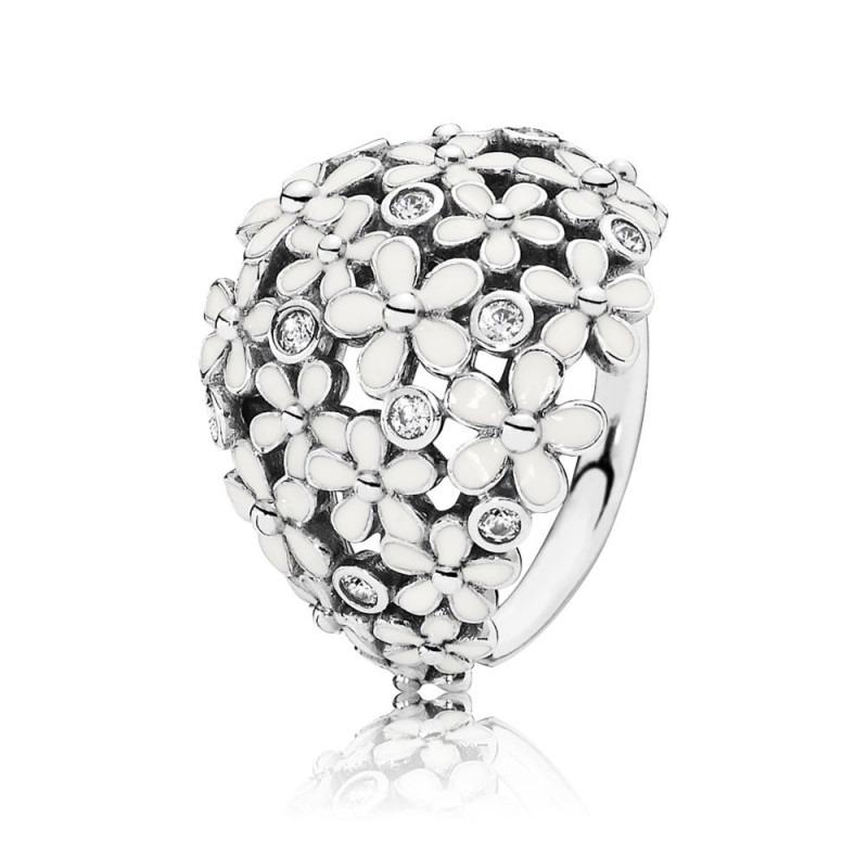 PANDORA zilveren boeket ring 190936EN12