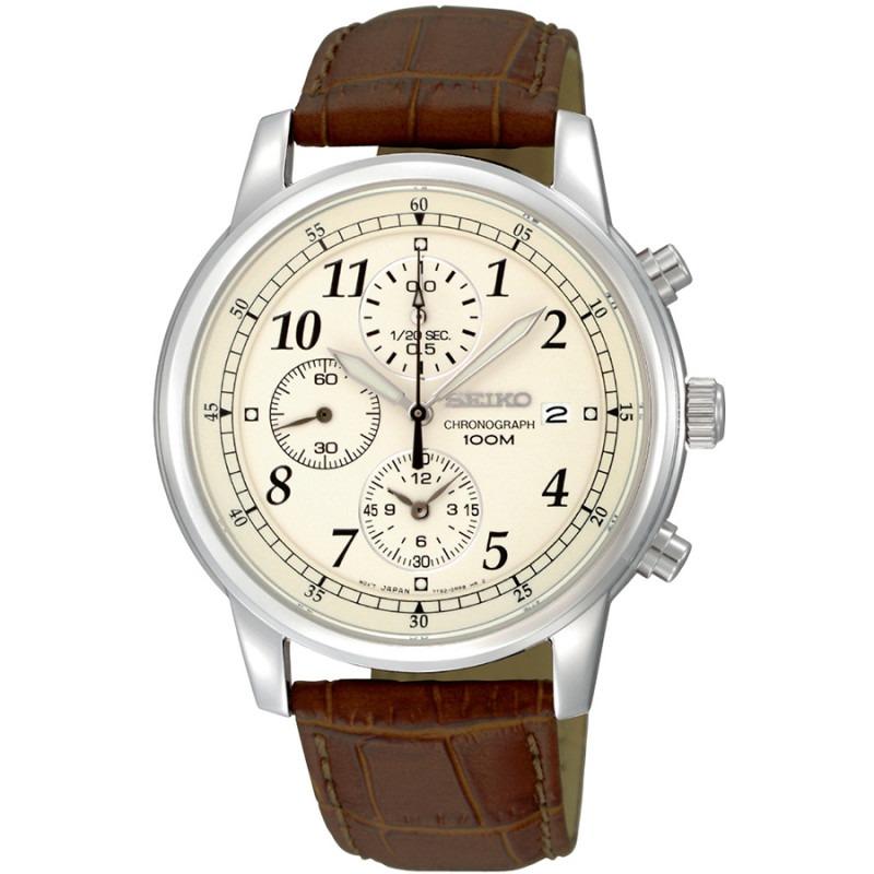 Seiko chronograph herenhorloge SNDC31P1
