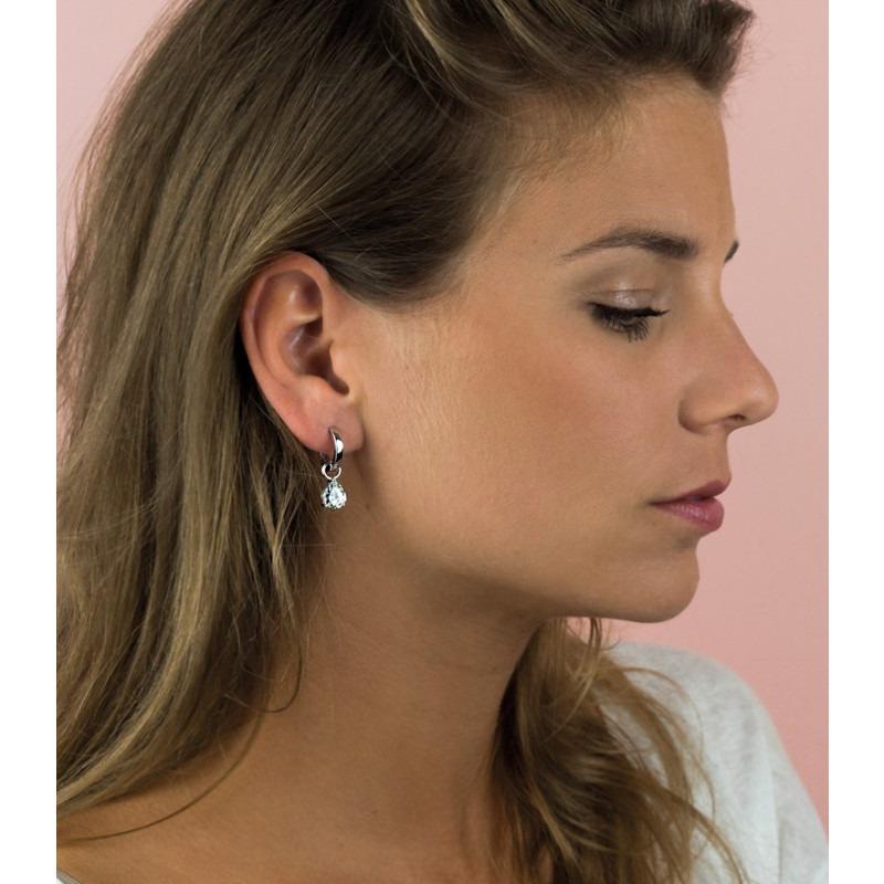 Zilveren oorbedels Zinzi ZICH1302