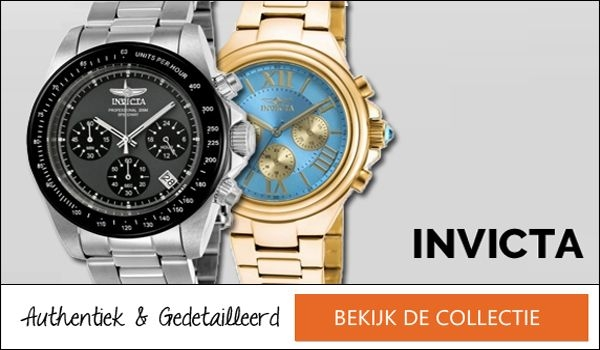 Invicta horloges banner