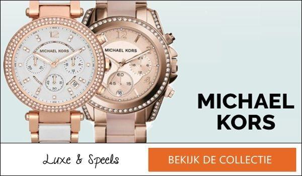 Michael Kors horloges banner