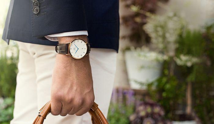 Onderhoud van een horloge
