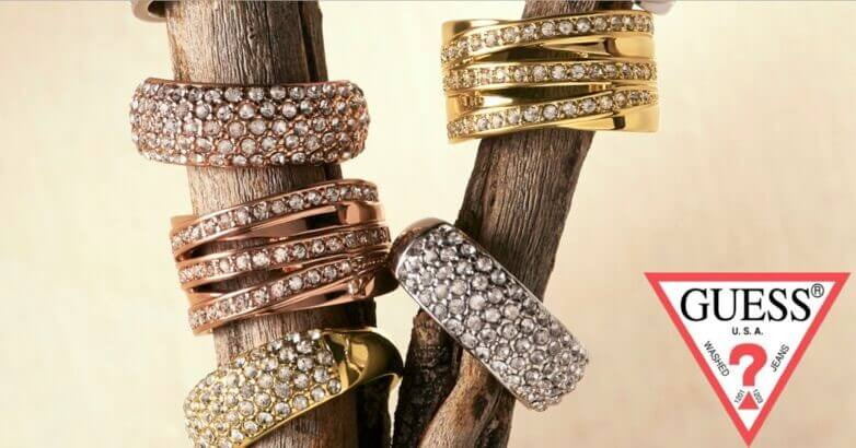 Gold plated Guess sieraden