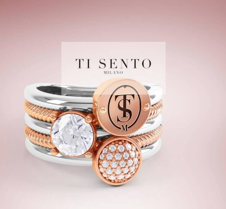 Gold plated Ti Sento sieraden